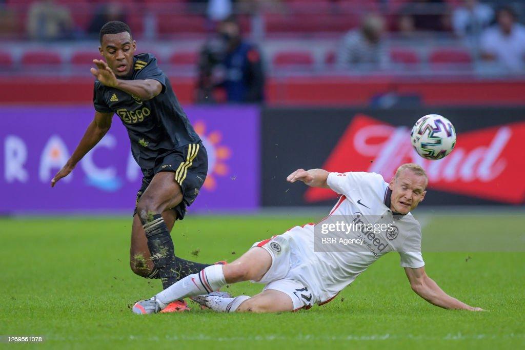 Ajax v Eintracht Frankfurt, pre season match : News Photo