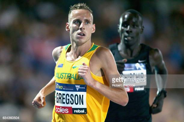 Ryan Gregson of Australia competes in men 1 mile run elimination during the 2017 Nitro Athletics Series at Lakeside Stadium on February 9 2017 in...