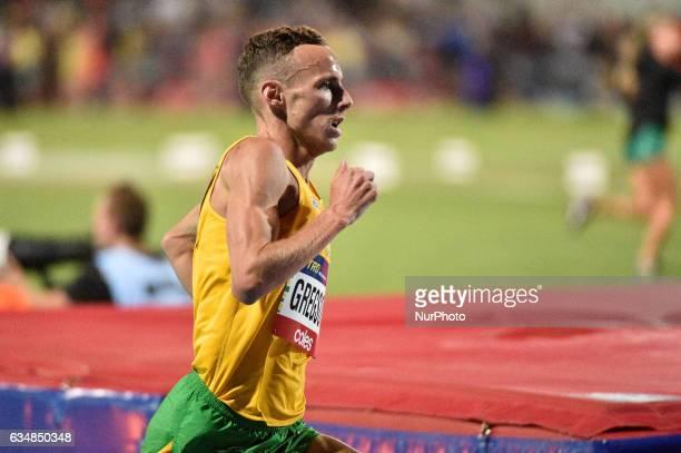 Ryan Gregson of Australia during the Men's 1 mile elimination race at Nitro Athletics at Lakeside Stadium on February 11 2017 in Melbourne Australia