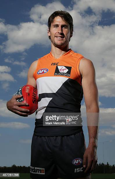 Ryan Griffen poses during a Greater Western Sydney Giants AFL media session at Skoda Stadium on October 16, 2014 in Sydney, Australia.
