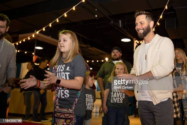 Ryan Griffin attends Country Cares for St Jude Kids Seminar at The Peabody on January 17 2020 in Memphis Tennessee