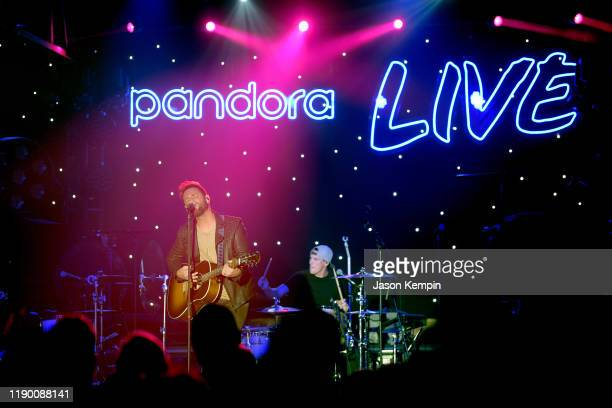 Ryan Griffin performs onstage during Pandora Live at Marathon Music Works on November 25 2019 in Nashville Tennessee