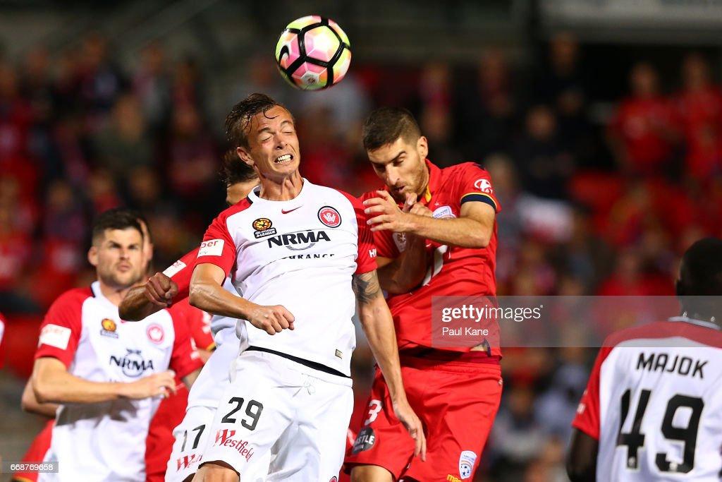 A-League Rd 27 - Adelaide v Western Sydney