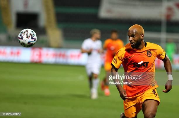 Ryan Guno Babel of Galatasaray in action during the Turkish Super Lig week 41 match between Yukatel Denizlispor and Galatasaray at the Ataturk...