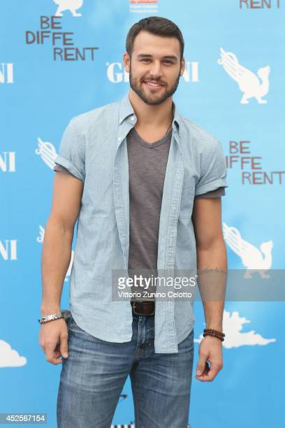 Ryan Guzman attends Giffoni Film Festival photocall on July 23 2014 in Giffoni Valle Piana Italy