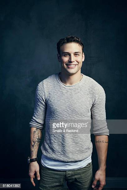Ryan Guzman poses for a portrait in the Getty Images SXSW Portrait Studio Powered By Samsung on March 13 2016 in Austin Texas