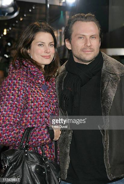 Ryan Haddon and Christian Slater during Finding Neverland London Premiere at Odeon Leicester Square London in London Great Britain