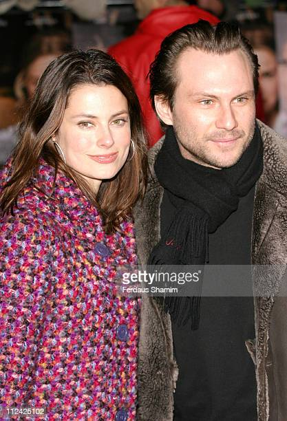 Ryan Haddon and Christian Slater during Finding Neverland London Benefit Premiere for Great Ormond Street Hospital Arrivals at Odeon Leicester Square...