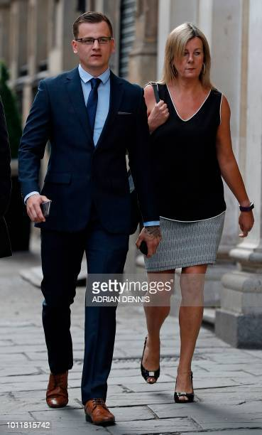 Ryan Hale arrives for the start of his trial at Bristol Crown Court in Bristol southwest England on August 6 2018 Ben Stokes's international career...