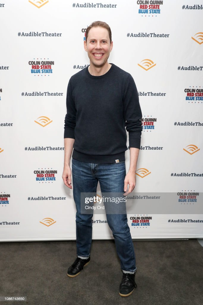 "Opening Night Of ""Colin Quinn: Red State Blue State"" : Foto jornalística"