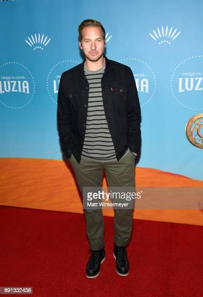 Ryan Hansen attends Cirque du Soleil presents the Los Angeles premiere event of 'Luzia' at Dodger Stadium on December 12 2017 in Los Angeles...
