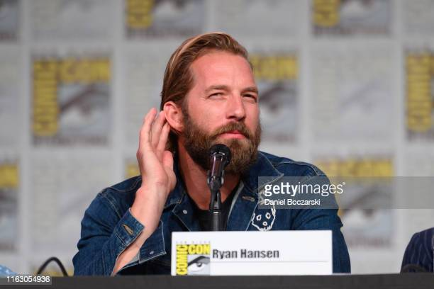 Ryan Hansen attends Hulu's Veronica Mars revival panel and world premiere during 2019 ComicCon International at San Diego Convention Center on July...