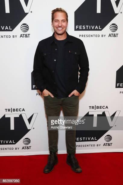 Ryan Hansen attends the Tribeca TV Festival series premiere of Ryan Hansen Solves Crimes on Television at Cinepolis Chelsea on September 23 2017 in...