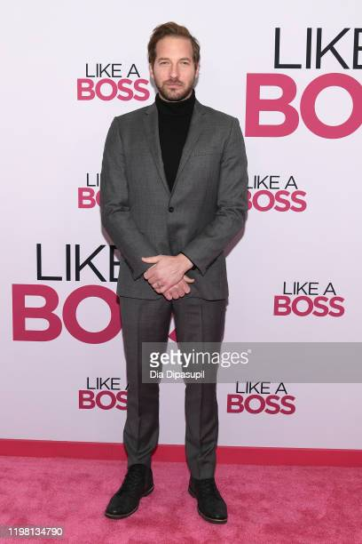 Ryan Hansen attends the world premiere of Like A Boss at SVA Theater on January 07 2020 in New York City