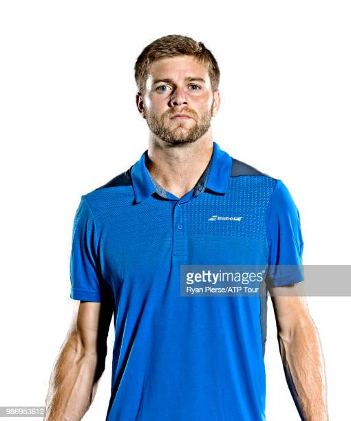 Ryan Harrison of the United States poses for portraits during the Australian Open at Melbourne Park on January 13 2018 in Melbourne Australia