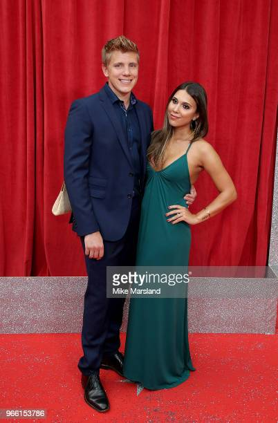Ryan Hawley attends the British Soap Awards 2018 at Hackney Empire on June 2 2018 in London England