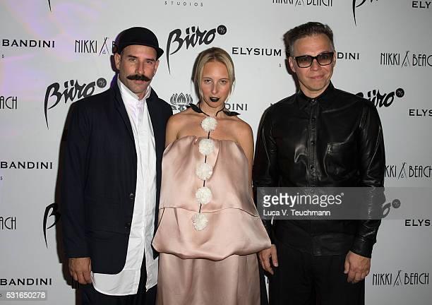 Ryan Heffington, Aliona Kononova and Ilya Lagutenko attend Tim Headington & Elysium Bandini Present The 8th Annual PARADIS Benefitting The Art of...