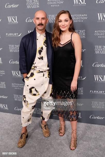 Ryan Heffington and Maddie Ziegler attend the 2017 WSJ Innovator Awards at Museum of Modern Art on November 1, 2017 in New York City.
