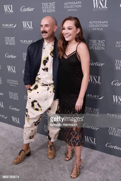 Ryan Heffington and Maddie Ziegler during the WSJ Magazine 2017 Innovator Awards at Museum of Modern Art on November 1, 2017 in New York City.