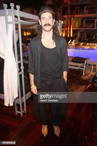 "Ryan Heffington attends Sara Von Kienegger and Art of Elysium Host Los Angeles Gallery MAMA's Presentation Of Ryan Heffington's ""Wading Games"" With..."