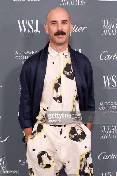 Ryan Heffington attends the 2017 WSJ Innovator Awards at Museum of Modern Art on November 1, 2017 in New York City.