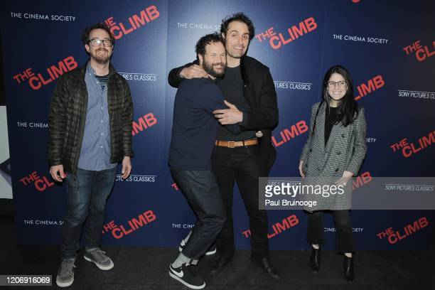 Ryan Heller Kyle Marvin Michael Angelo Covino and Talia Cohen attend Sony Pictures Classics And The Cinema Society Host A Special Screening Of The...