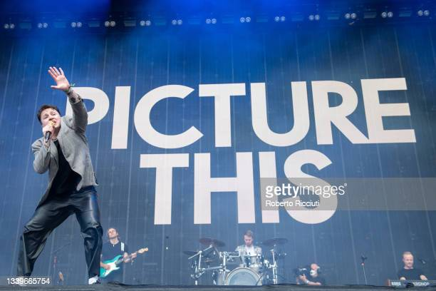 Ryan Hennessy of Picture This performs on the Main Stage on the second day of TRNSMT Festival 2021 on September 11, 2021 in Glasgow, Scotland.