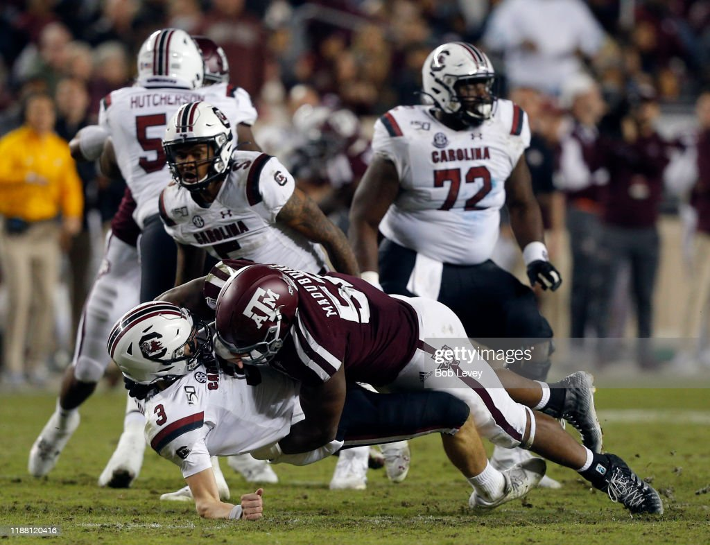 South Carolina v Texas A&M : News Photo