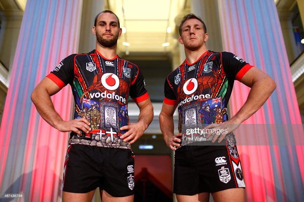 Warriors Launch ANZAC Commemorative Jersey