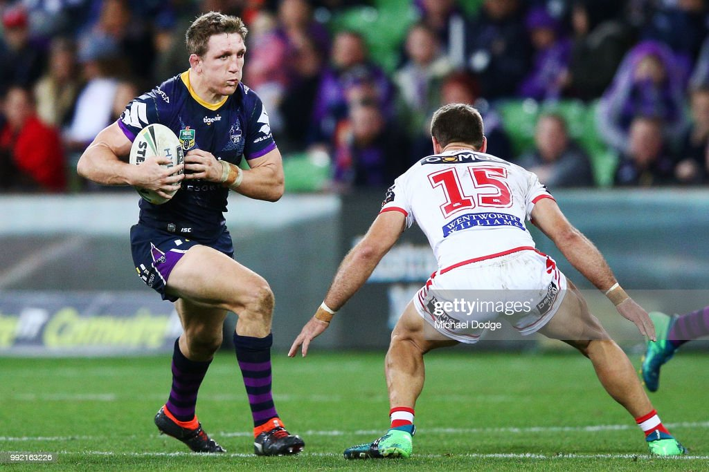 NRL Rd 17 - Storm v Dragons : News Photo