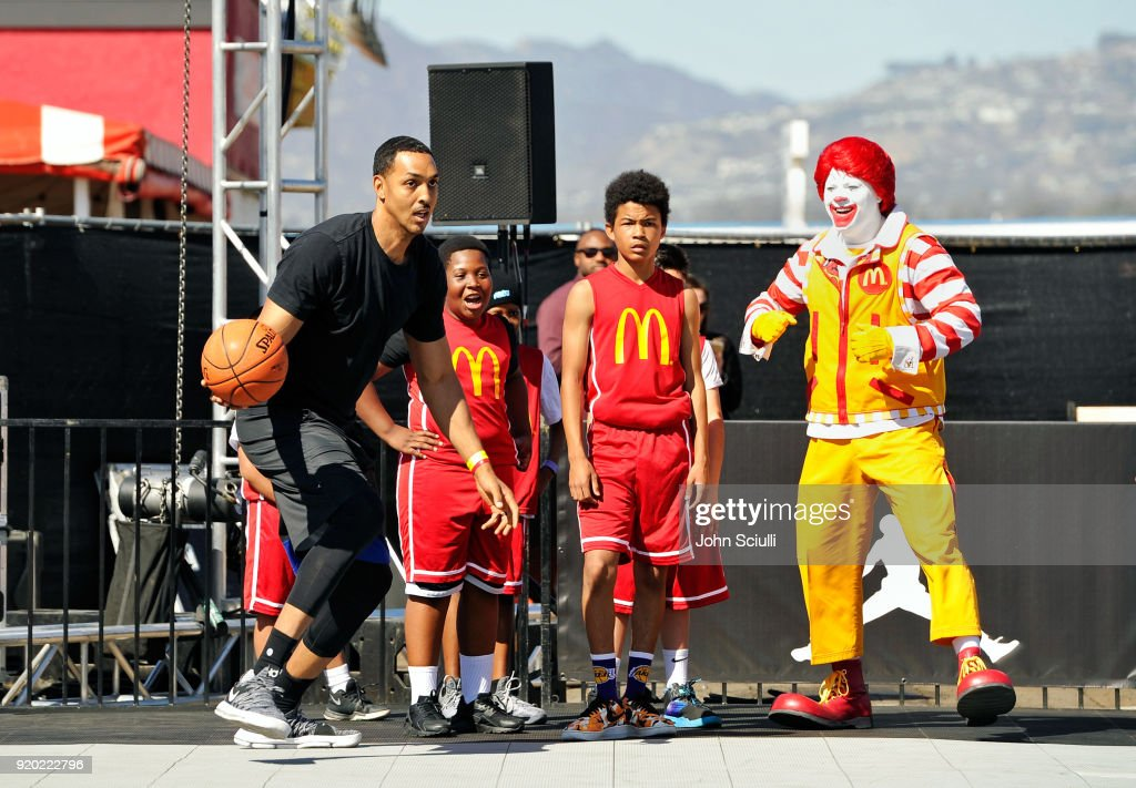 McDonald's at Bleacher Report All-Star Experience