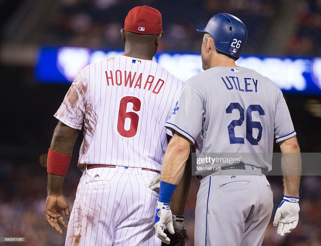 Los Angeles Dodgers  v Philadelphia Phillies : News Photo