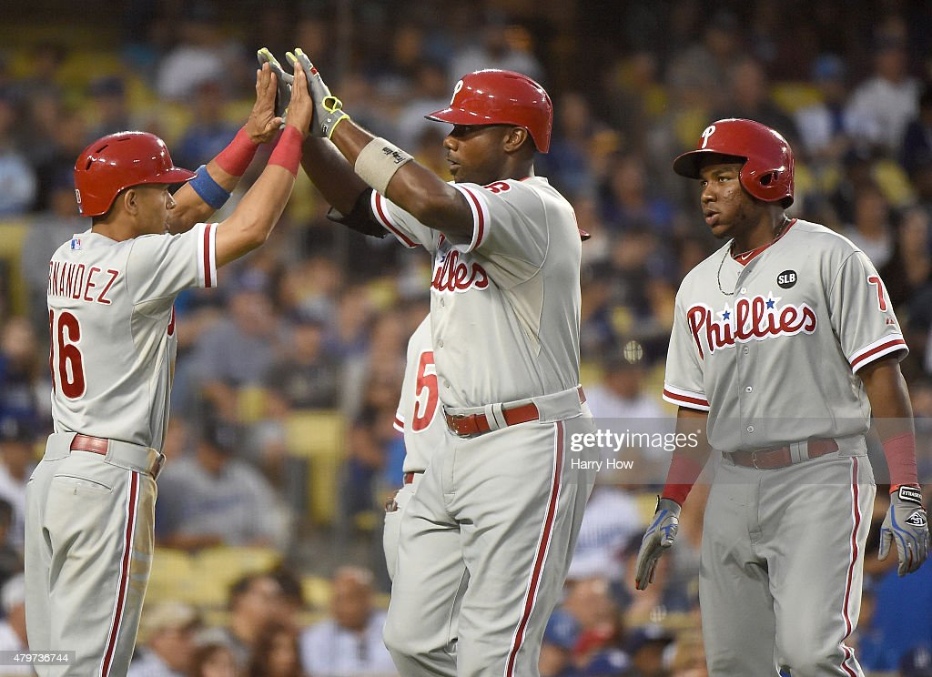 Philadelphia Phillies v Los Angeles Dodgers : News Photo