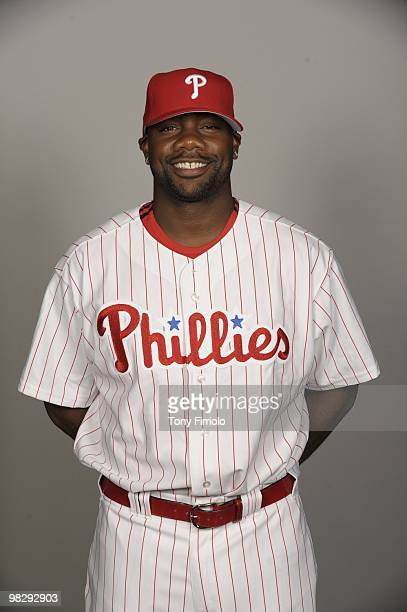 Ryan Howard of the Philadelphia Phillies poses during Photo Day on Wednesday February 24 at Bright House Networks Field in Clearwater Florida