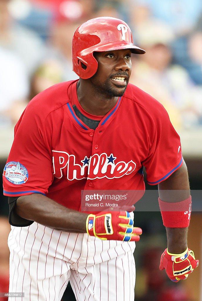 Houston Astors v Philadelphia Phillies : News Photo