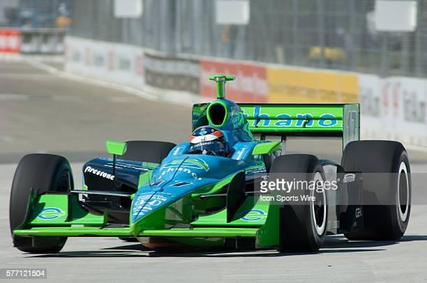 Ryan HunterReay at the Detroit Belle Isle Grand Prix Detroit Michigan USA