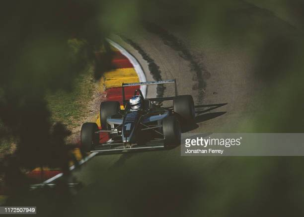 Ryan HunterReay of the United States drives the Medlock Ames Winery Hylton Motorsports Swift 014 Toyota 4AGE during the Championship Auto Racing...