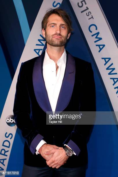 Ryan Hurd attends the 51st annual CMA Awards at the Bridgestone Arena on November 8 2017 in Nashville Tennessee