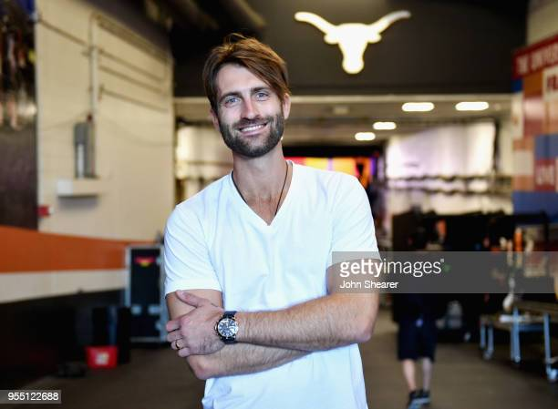 Ryan Hurd poses backstage at the 2018 iHeartCountry Festival By ATT at The Frank Erwin Center on May 5 2018 in Austin Texas