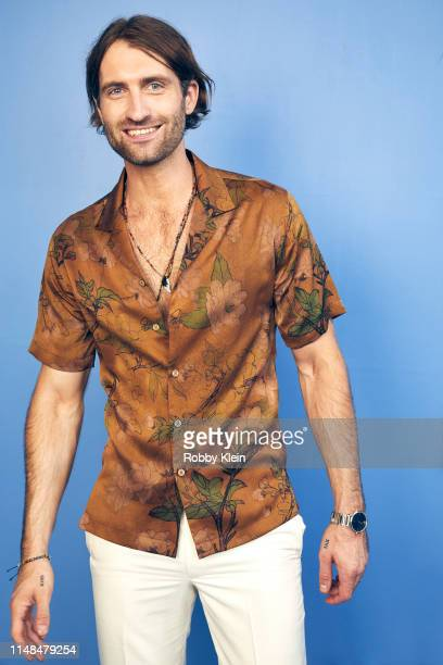 Ryan Hurd poses for a portrait during the 2019 CMT Music Awards at Bridgestone Arena on June 5 2019 in Nashville Tennessee