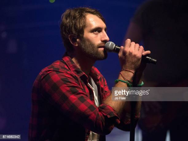 Ryan Hurd supports Maren Morris and performs at O2 Shepherd's Bush Empire on November 15 2017 in London England