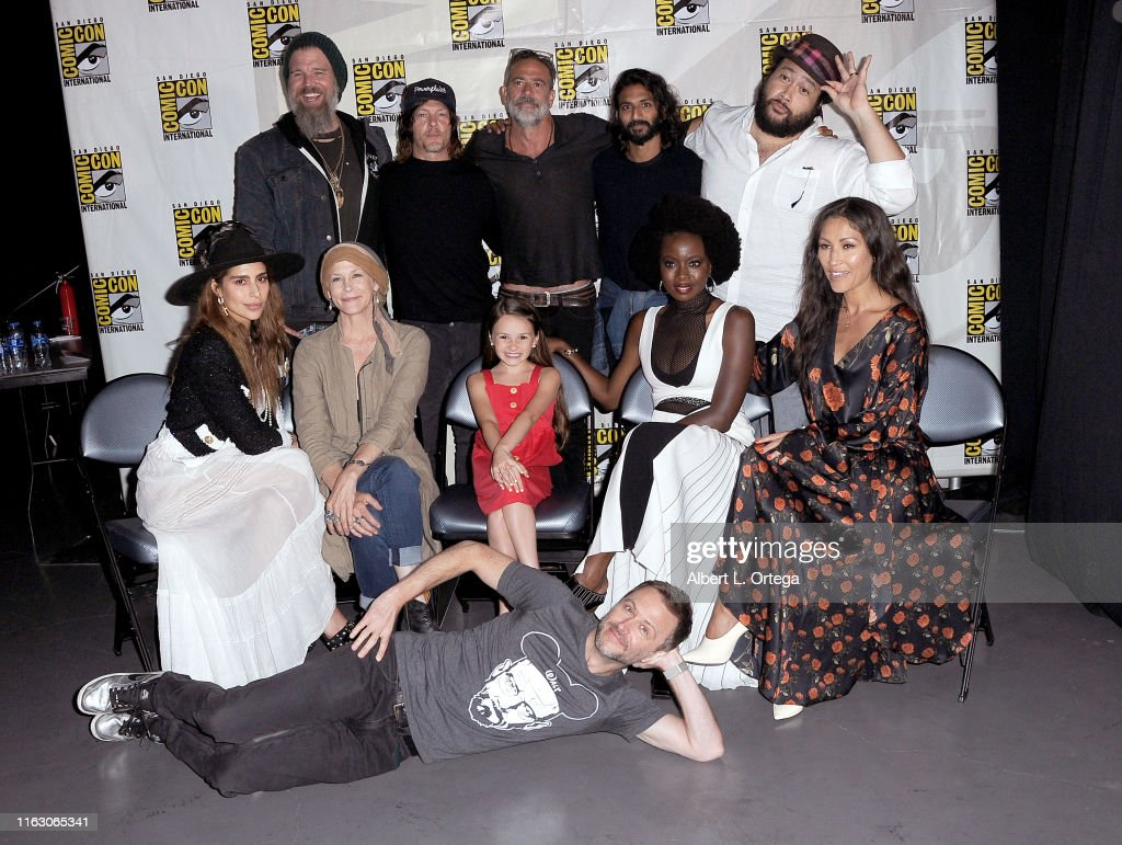 "2019 Comic-Con International - ""The Walking Dead"" Panel : News Photo"