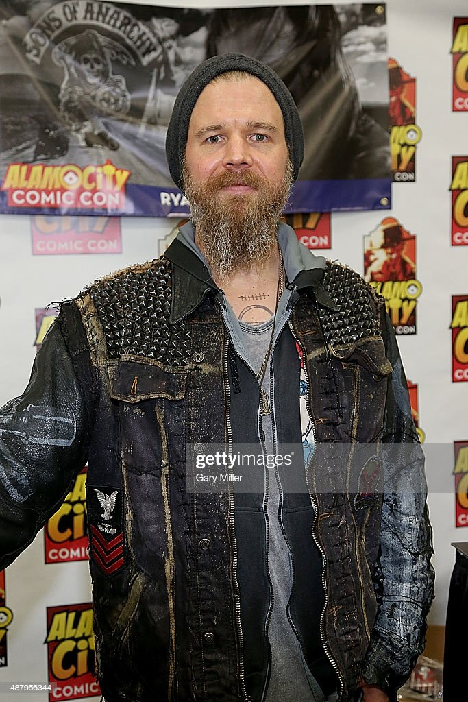Ryan Hurst poses in between meeting with fans during the Alamo City Comic Con at Henry B. Gonzalez Convention Center on September 12, 2015 in San Antonio, Texas.
