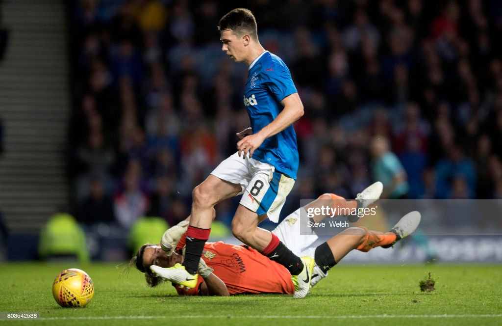 Rangers v Progres Niederkorn - UEFA Europa League First Qualifying Round : News Photo