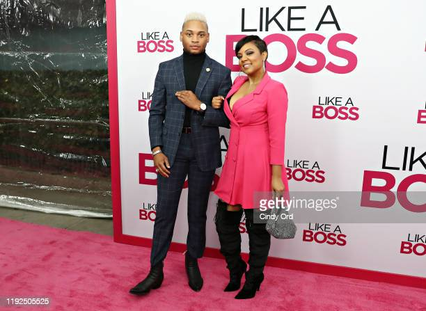 Ryan Jamaal Swain and Tahira Joy attend the world premiere of Like A Boss at SVA Theater on January 07 2020 in New York City