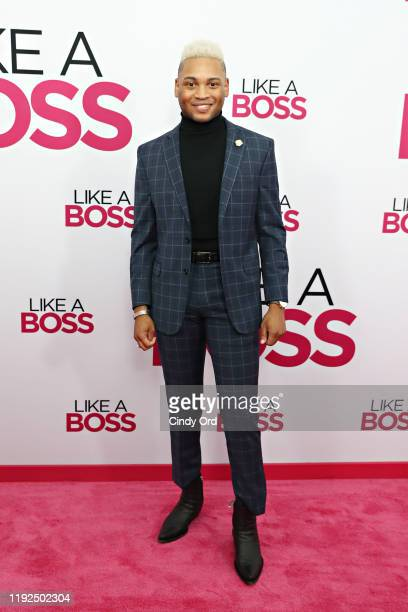 Ryan Jamaal Swain attends the world premiere of Like A Boss at SVA Theater on January 07 2020 in New York City