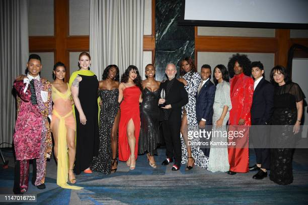 Ryan Jamaal Swain Indya Moore Our Lady J Dominique Jackson Angelica Ross Hailie Sahar Janet Mock Ryan Murphy Dominique Jackson Dyllón Burnside Mj...