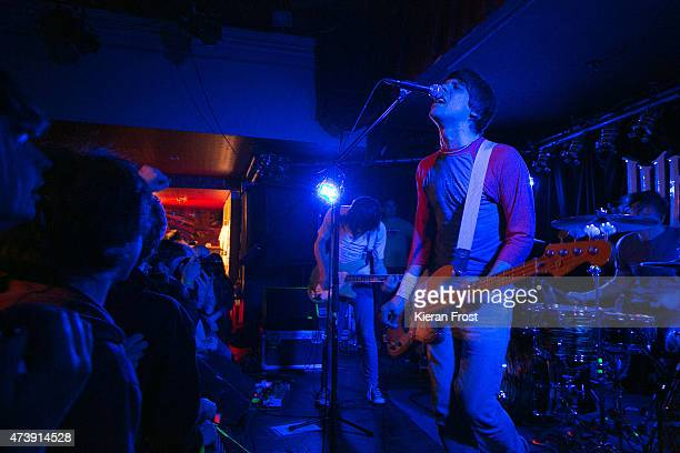 Ryan Jarman and Gary Jarman of The Cribs perform at Whelan's on May 18 2015 in Dublin Ireland