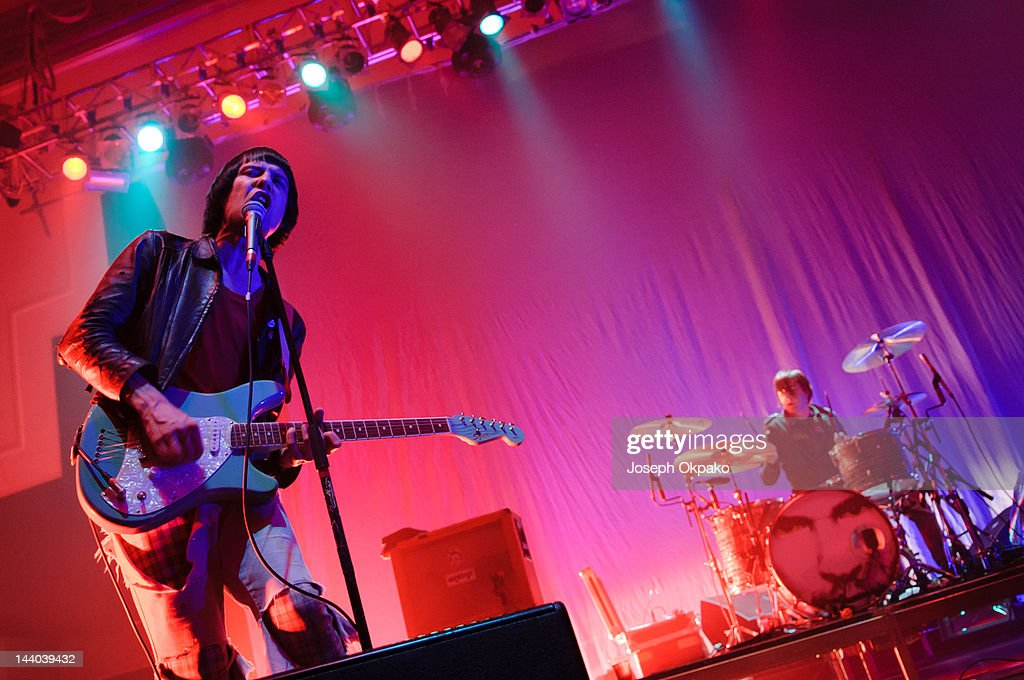 The Cribs Perform in London