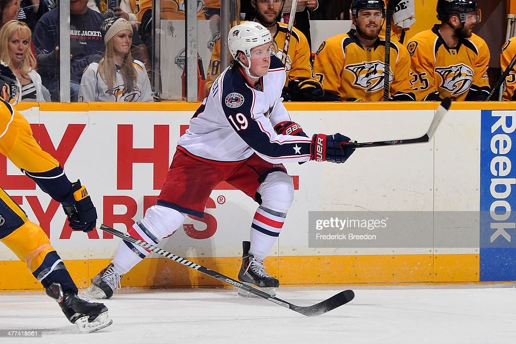 Columbus Blue Jackets v Nashville Predators : News Photo
